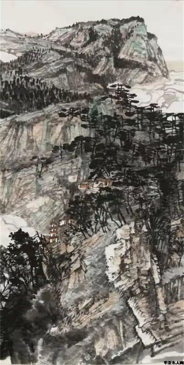 中国当代著名山水画家崔泽培艺术风格赏析