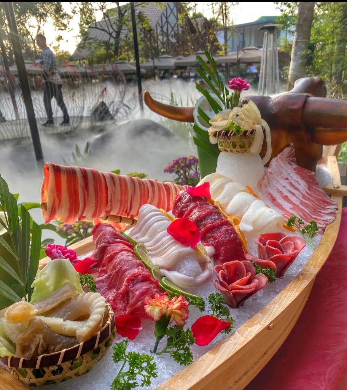 世界上有一款最好吃的星级火锅,叫茅歌水韵湖畔生态火锅